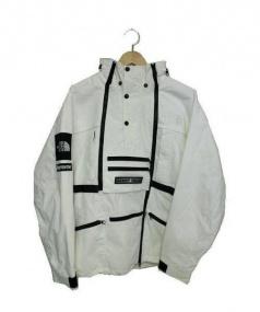 SUPREME × THE NORTH FACE(シュプリーム×ザ ノースフェイス)の古着「コラボスティープテックフーデッドジャケット」|ホワイト