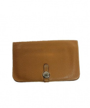 HERMES(エルメス)の古着「2つ折り財布」|ブラウン