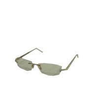 CAZAL(カザール)の古着「伊達眼鏡(メガネフレーム)」|ホワイト