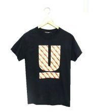 UNDERCOVER(アンダーカバー)の古着「バーガーUロゴTシャツ」|ブラック