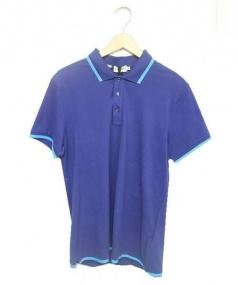 MONCLER(モンクレール)の古着「ポロシャツ」|ブルー