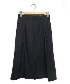 R&D.M.Co-OLDMANS TAILOR(オールドマンズテーラー)の古着「タックロングスカート」 グレー