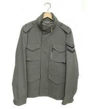 BRIGHT THINGS(ブライトシングス)の古着「ミリタリージャケット」|グレー