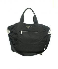 PRADA(プラダ)の古着「2WAYナイロントートバッグ」|ブラック