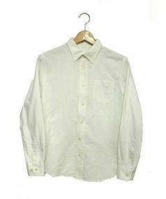 THE NORTH FACE(ノースフェイス)の古着「ボタンダウンオックスフォードシャツ」|ホワイト