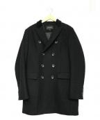 BANANA REPUBLIC(バナナリパブリック)の古着「ダブルチェスターコート」 ブラック