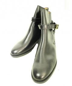 Lloyd Footwear(ロイド フットウェア)の古着「レザーショートブーツ」 ブラック