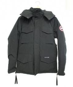 CANADA GOOSE(カナダグース)の古着「カムループスダウンジャケット」|ブラック