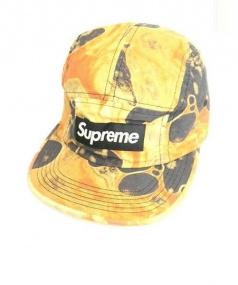 SUPREME(シュプリーム)の古着「キャンプキャップ」|ブラック×オレンジ