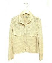 FOXEY BOUTIQUE(フォクシー ブティック)の古着「ニットジャケット」|ベージュ