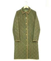RALPH LAUREN(ラルフローレン)の古着「キルティングコート」|オリーブ