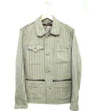 sage de cret(サージュ デクレ)の古着「ウールカバーオールジャケット」|グレー