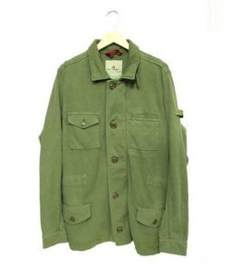 PEUTEREY(ピューテリー)の古着「M65コットンミリタリージャケット」|オリーブ