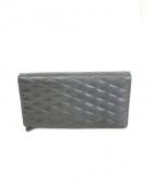 BARNEYS NEWYORK(バーニーズニューヨーク)の古着「レザー長財布」|ブラック