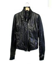 EKAM(エカム)の古着「シープレザージャケット」 ブラック