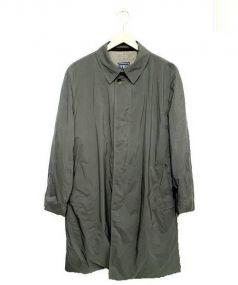 FEDELI(フェデーリ)の古着「カシミヤライナー付ステンカラーコート」 グレー