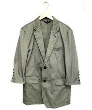 COMME des GARCONS HommePlus(コムデギャルソンオムプリュス)の古着「テーラードジャケット」|グレー