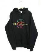 Supreme × Champion(シュプリーム×チャンピオン)の古着「コラボロゴ刺繍プルオーバーパーカー」|ブラック