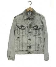 N.HOOLYWOOD × LEE(エヌハリウッド×リー)の古着「ブリーチ加工デニムジャケット」|ホワイト