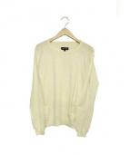 DRAWER(ドゥロワー)の古着「カシミヤ混ニット」|ホワイト