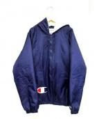 Supreme × Champion(シュプリーム×チャンピオン)の古着「内ボアフーデッドジャケット」|ネイビー