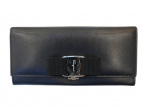 Salvatore Ferragamo(サルヴァトーレフェラガモ)の古着「長財布」|ブラック