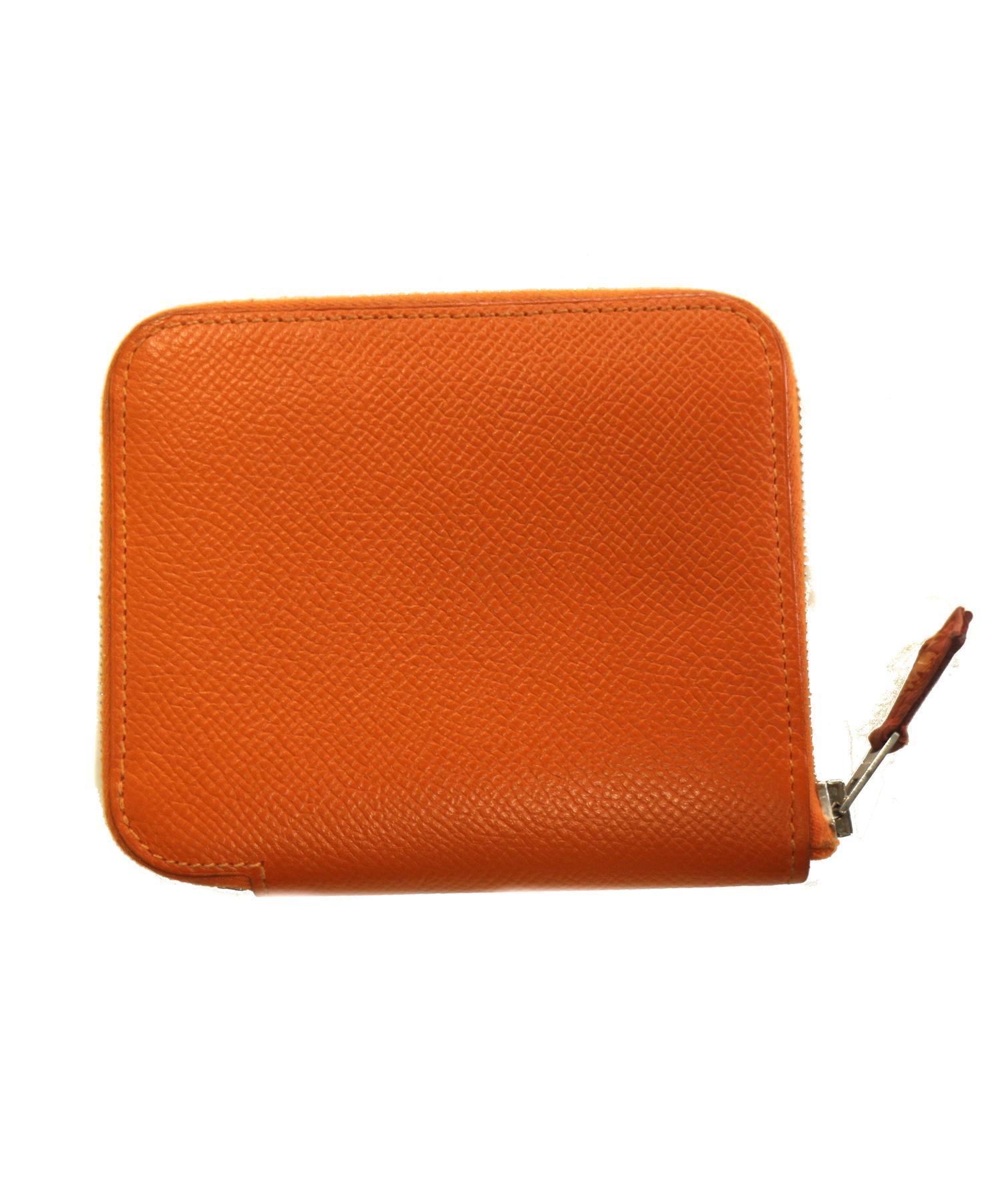 huge selection of c784b daf4e [中古]HERMES(エルメス)のレディース 服飾小物 シルクインコンパクトラウンドファスナー財布