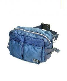 PORTER×BEAMS(ポーター×ビームス)の古着「インディゴウエストバッグ」|ブルー