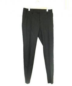 UNDERCOVER(アンダーカバー)の古着「ストレッチウールスリムスラックス」|ブラック