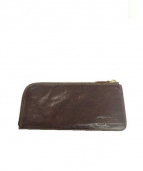 IL BISONTE(イルビゾンテ)の古着「L字ファスナー長財布」|ブラウン