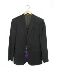 RALPH LAUREN PurpleLabel(ラルフローレン パープルレーベル)の古着「セットアップウール2Bスーツ」|ブラック