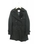 BEAUTY&YOUTH(ビューティアンドユース)の古着「ダウンライナー付トレンチコート」|ブラック