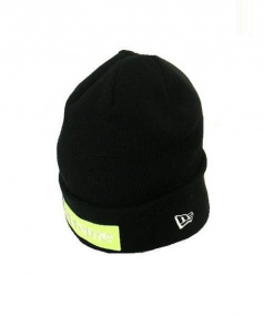 SUPREME × NEWERA(シュプリーム × ニューエラ)の古着「ボックスロゴニット帽」|ブラック