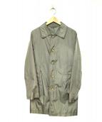 green label relaxing(グリーンレーベルリラクシング)の古着「ステンカラーコート」|グレー