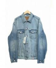 GUESS × ASAP Rocky(ゲス × エイサップ ロッキー)の古着「コラボデニムジャケット」|ブルー