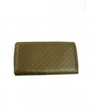 GUCCI(グッチ)の古着「長財布」|ベージュ