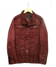 EPOCA UOMO(エポカウォモ)の古着「中綿ジャケット」|レッド
