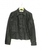 GUCCI(グッチ)の古着「オールドカバーオール」 ブラック