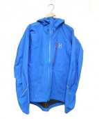 HAGLOFS(ホグロフス)の古着「L.I.M ? JACKET」|ブルー