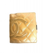 CHANEL(シャネル)の古着「2つ折り財布」|ベージュ
