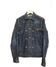 KURO(クロ)の古着「デニムジャケット」|ネイビー