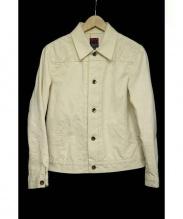 BRU NA BOINNE(ブルーナボイン)の古着「ダーラデニムジャケット」|アイボリー