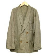 CLASS(クラス)の古着「ウールシルクダブルジャケット」|ベージュ