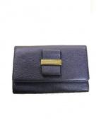 SEE BY CHLOE(シーバイクロエ)の古着「3つ折り財布」|ネイビー