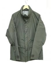 or glory(オアグローリー)の古着「ナイロンミリタリージャケット」|オリーブ