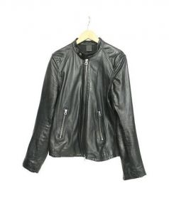 HARE(ハレ)の古着「ジープスキンレザージャケット」|ブラック