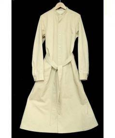 la kagu(ラカグ)の古着「シャツワンピース」|ベージュ