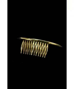 PLUIE(プリュイ)の古着「クレセントコーム」|ゴールド