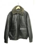 JOS.A.BANK(ジョス エー バンク)の古着「ボンバージャケット」|ブラック
