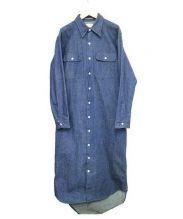 MADISON BLUE(マディソンブルー)の古着「デニムシャツワンピース」|インディゴ